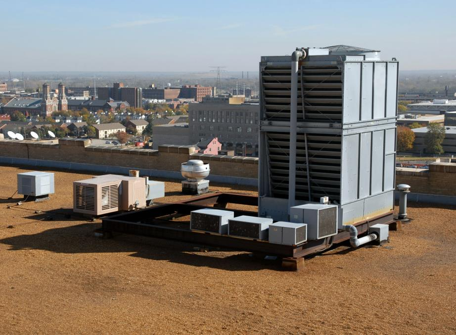 Rooftop HVAC/R Cooling Tower Installation & Repair in Fall River, Massachusetts